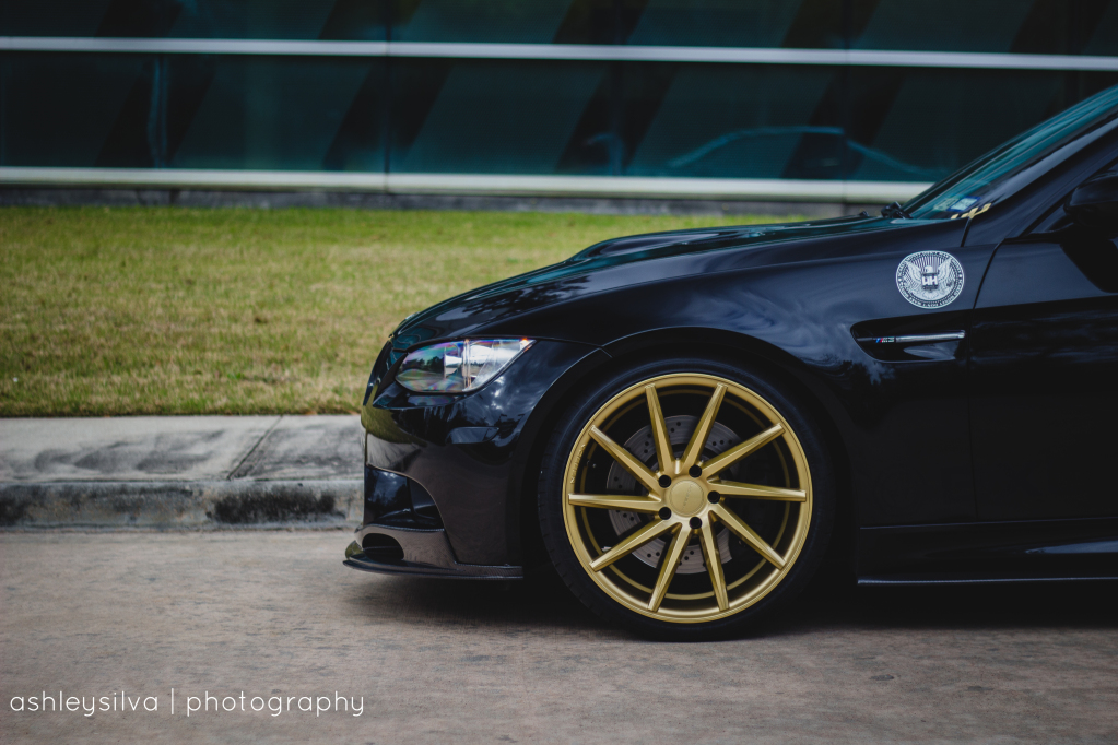 Dark Knight Bmw M3 Gets Cvt Wheels Autoevolution