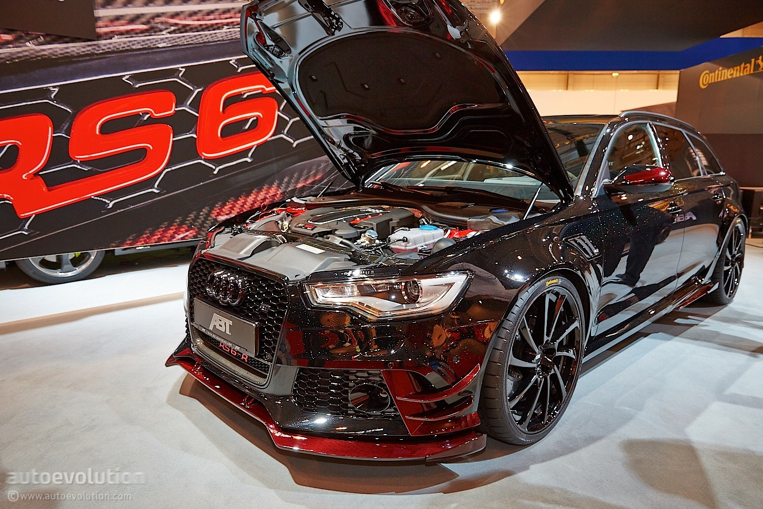 Darth Vaders Audi RS6 R By ABT Invades Essen 2014 With