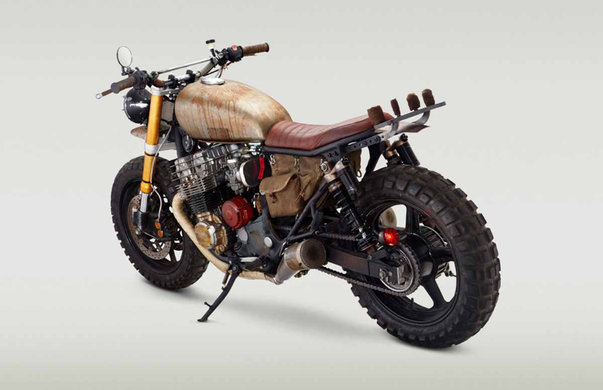 Daryl Dixon and His Zombie Apocalypse Custom Bike ...