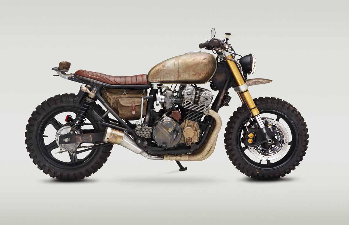 Daryl Dixon and His Zombie Apocalypse Custom Bike - autoevolution