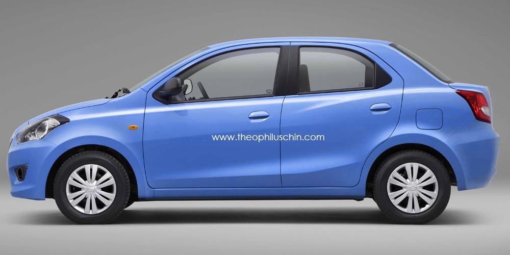 Datsun Go Rendered As Sedan Autoevolution