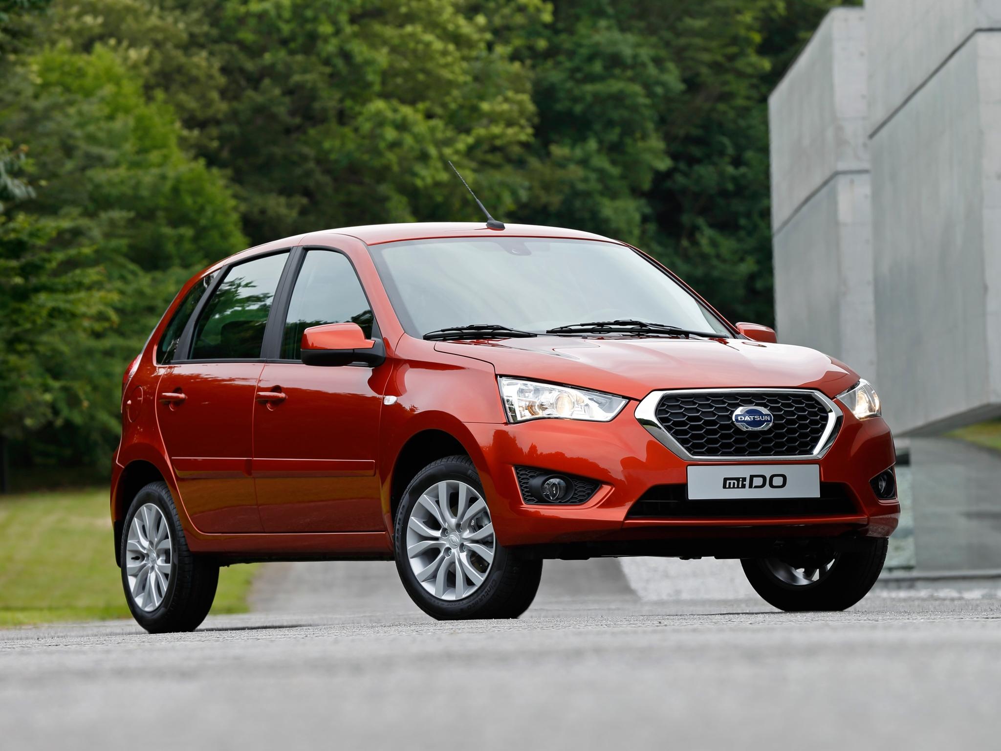 Datsun Reveals Mi-do Hatchback In Russia  Based On Lada Kalina  Video