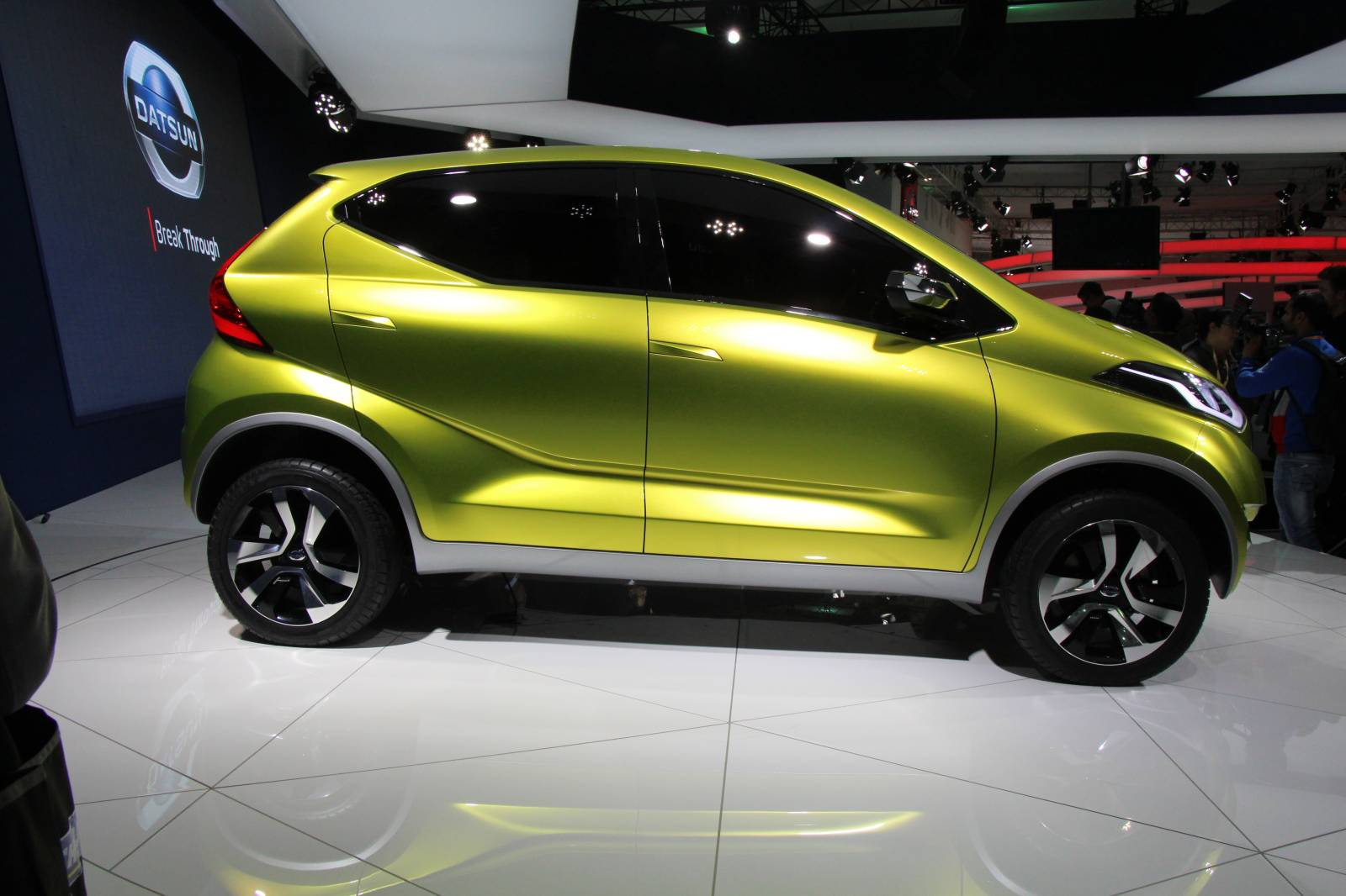 Datsun Unveils redi-GO Concept in New Delhi [Live Photos ...