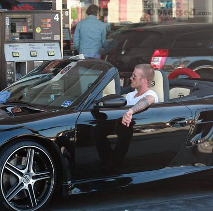 David Beckham S 2008 Porsche 911 Turbo Convertible For