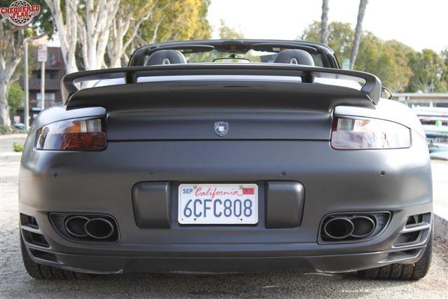 David Beckhams 2008 Porsche 911 Turbo Convertible For Sale
