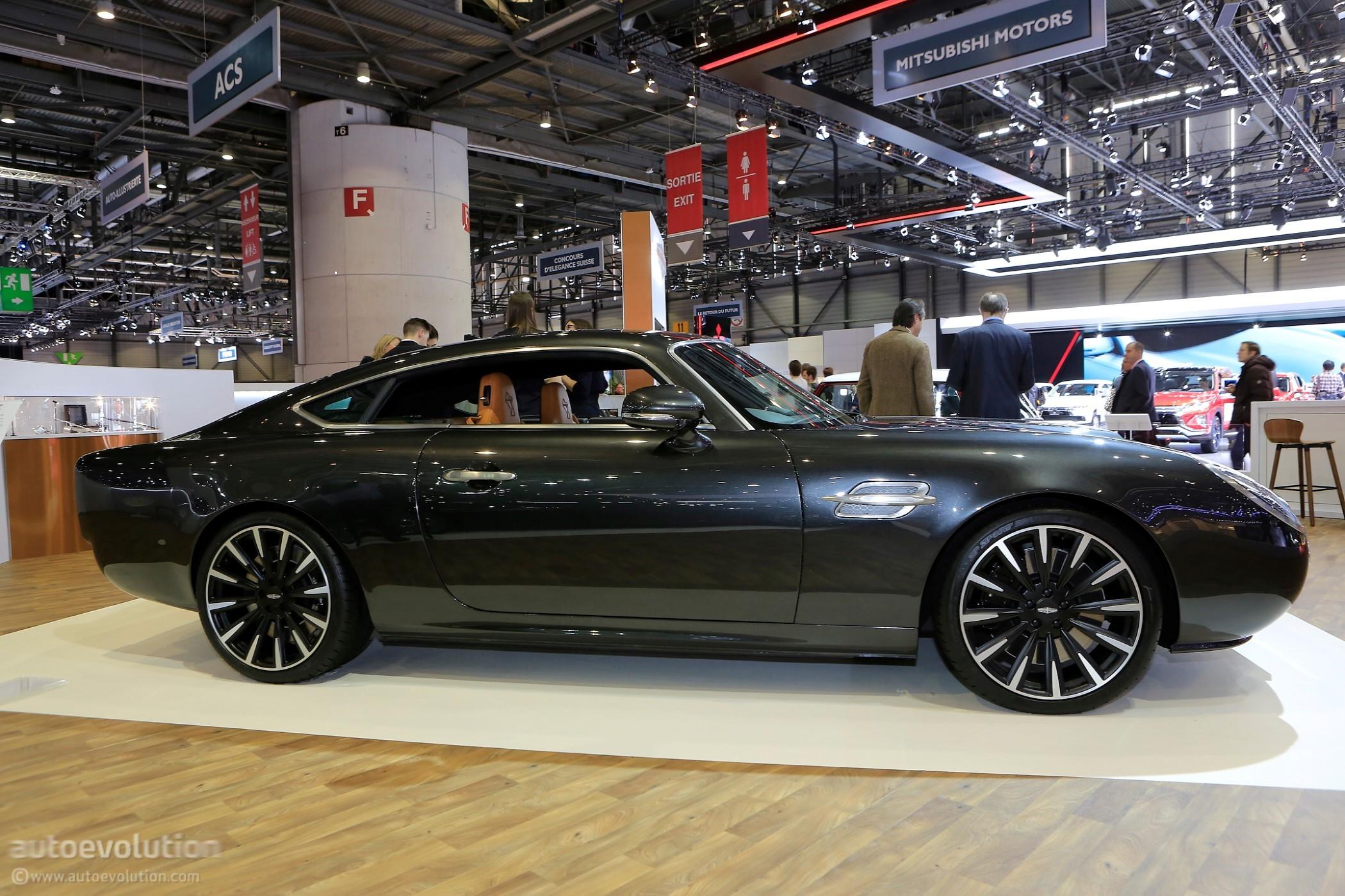 David Brown Automotive Comes To Geneva With Speedback ...