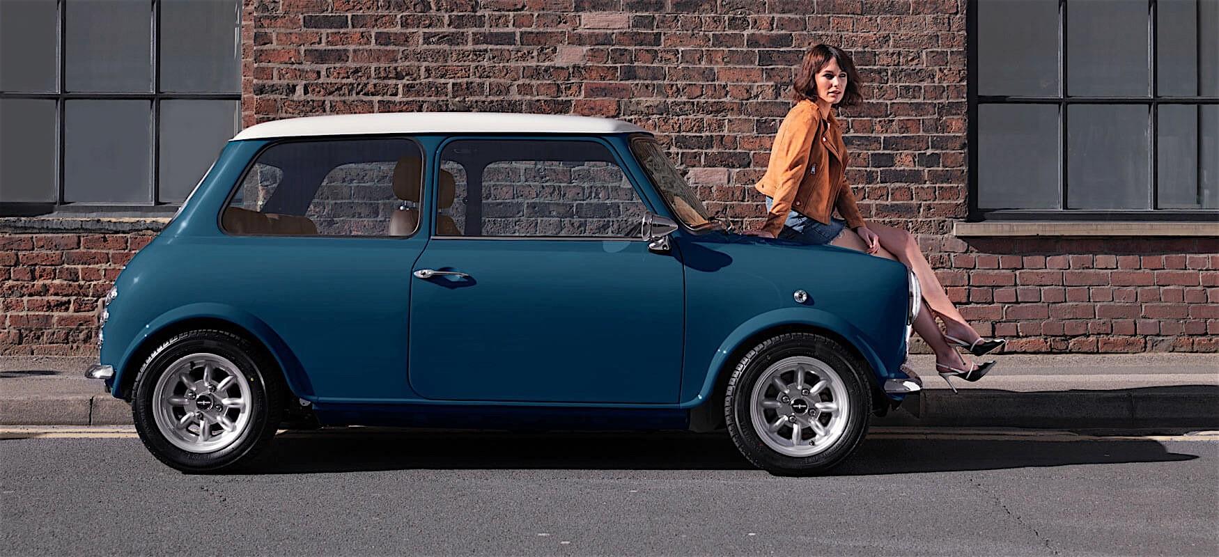 David Brown Automotive Remasters The Classic Mini Keyless
