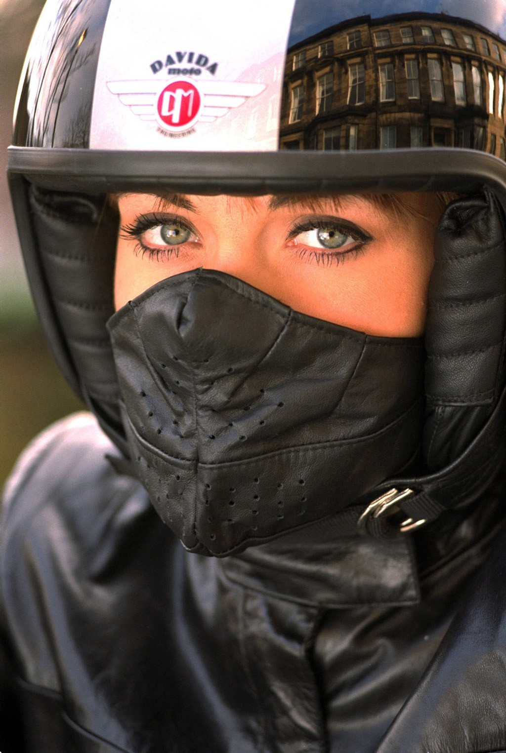 Alpinestars Motorcycle Jacket >> Davida Leather Face Masks Look Retro, Funny and Even Kinky ...