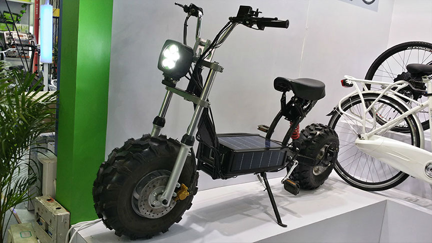 One Stop Auto Sales >> Daymak Beast, the Solar-Powered Off-Road Scooter - autoevolution