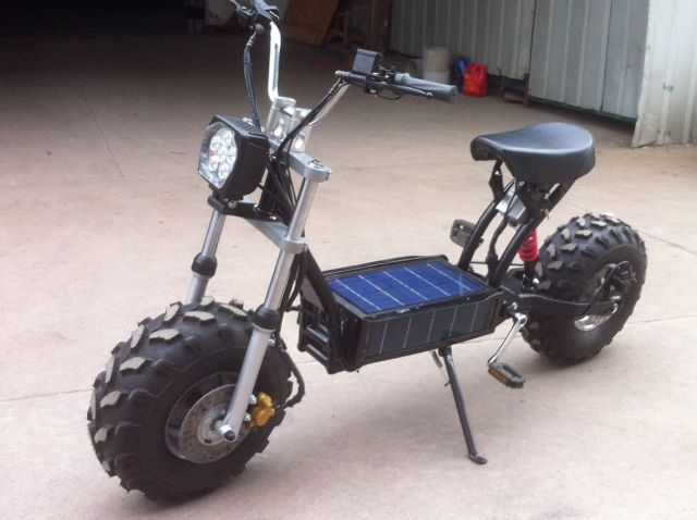 Daymak Beast The Solar Powered Off Road Scooter