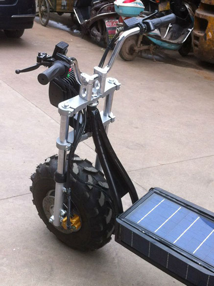 Bike Washing Machine >> Daymak Beast, the Solar-Powered Off-Road Scooter - autoevolution