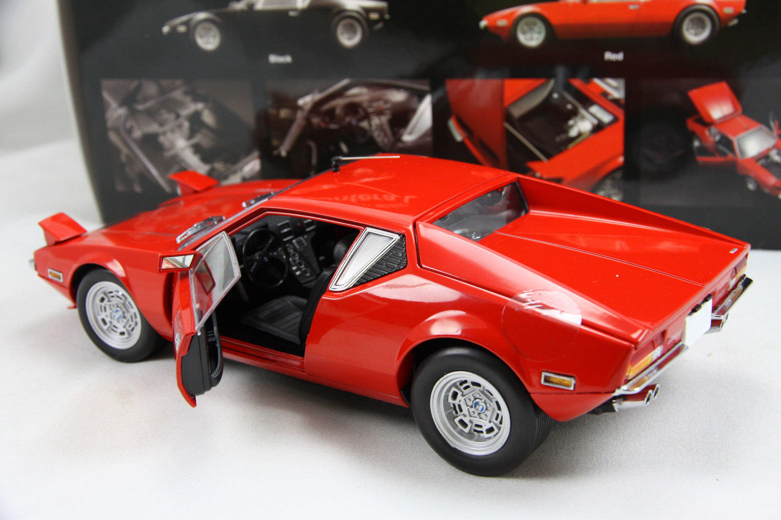De Tomaso Pantera Revived By Gorgeous Scale Model