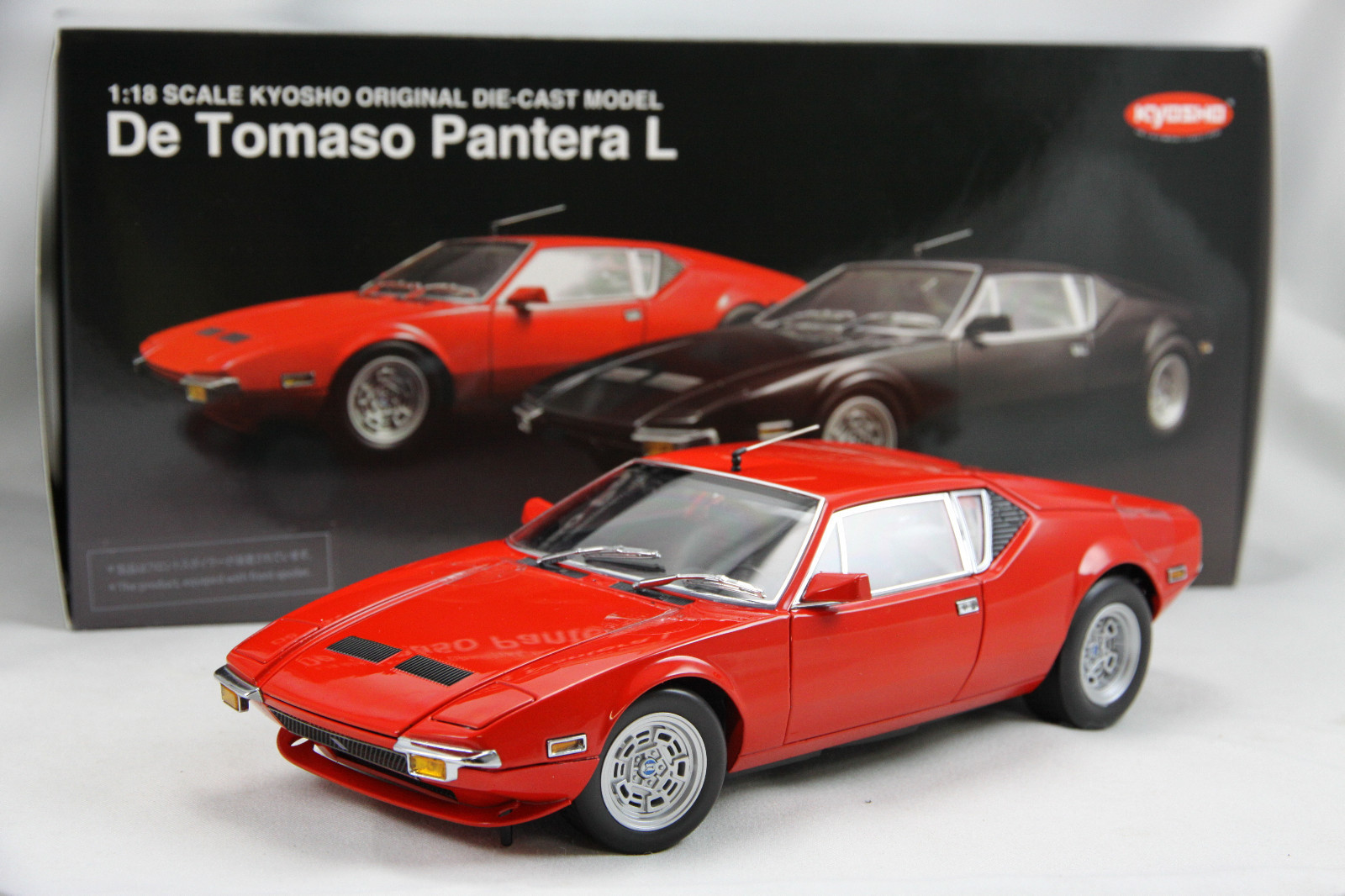 Diecast Model Cars >> De Tomaso Pantera Revived by Gorgeous Scale Model - autoevolution