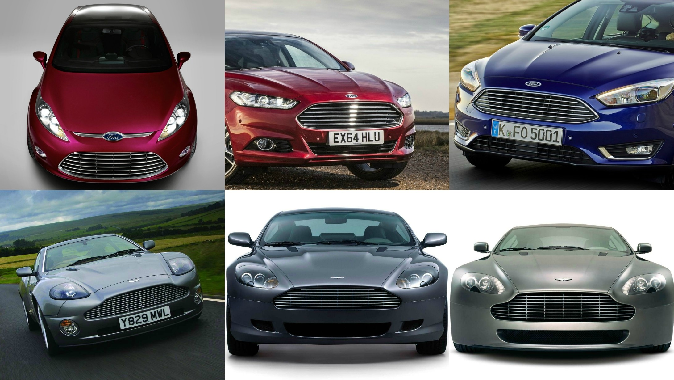 Ford Vs Aston Martin Front Grille Designs