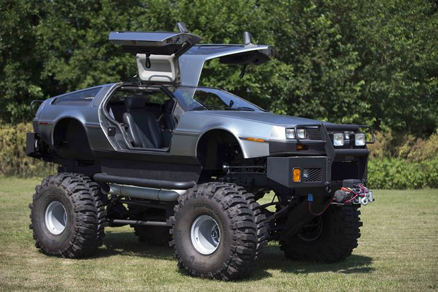 Delorean Afficionado Makes Monster Truck Limo And Hovercraft Autoevolution