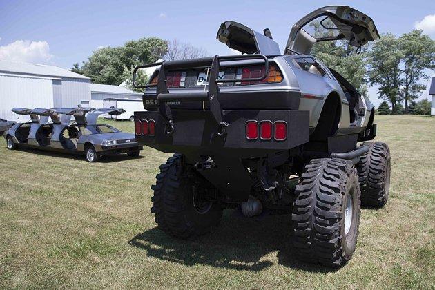 Delorean Afficionado Makes Monster Truck Limo And