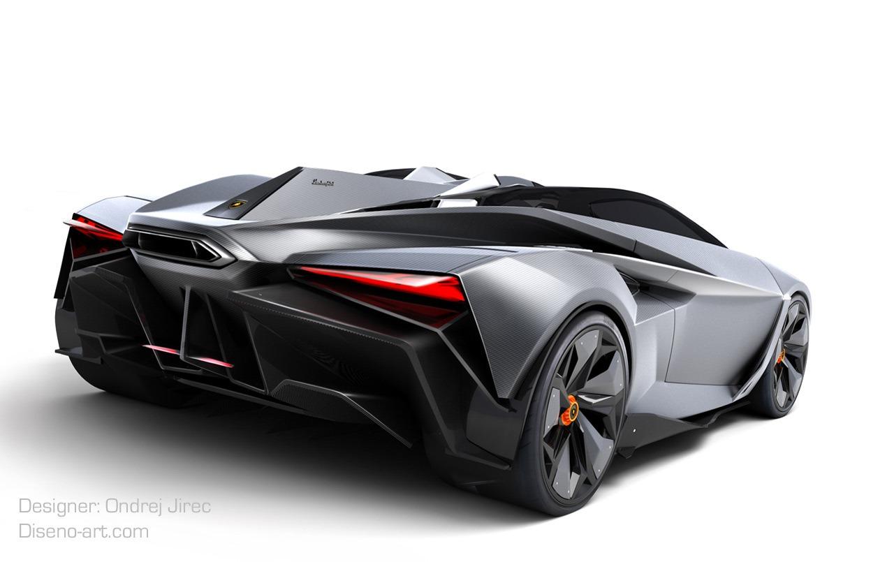 Design Student Creates Jet Fighter Inspired Lamborghini Concept