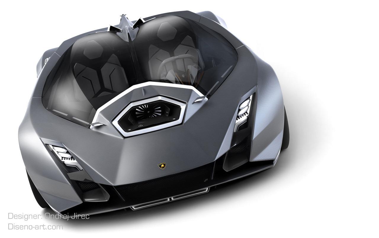 Design Student Creates Jet Fighter Inspired Lamborghini Concept Autoevolution