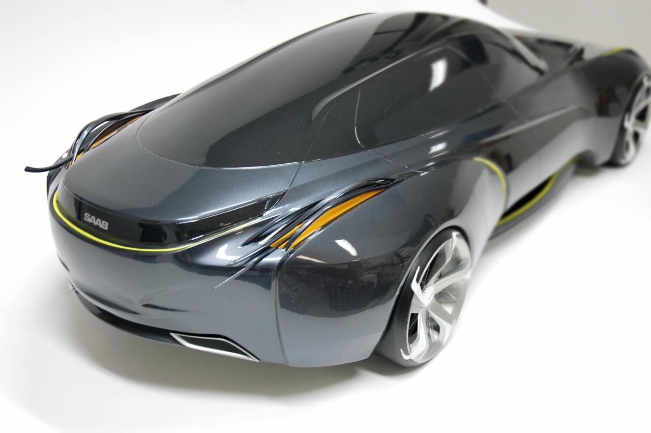 Designer Envisions 2025 Saab Shape Autoevolution