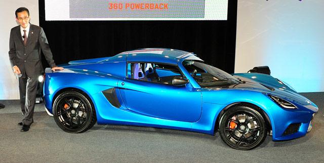 The Sp 01 Ev Sports Car