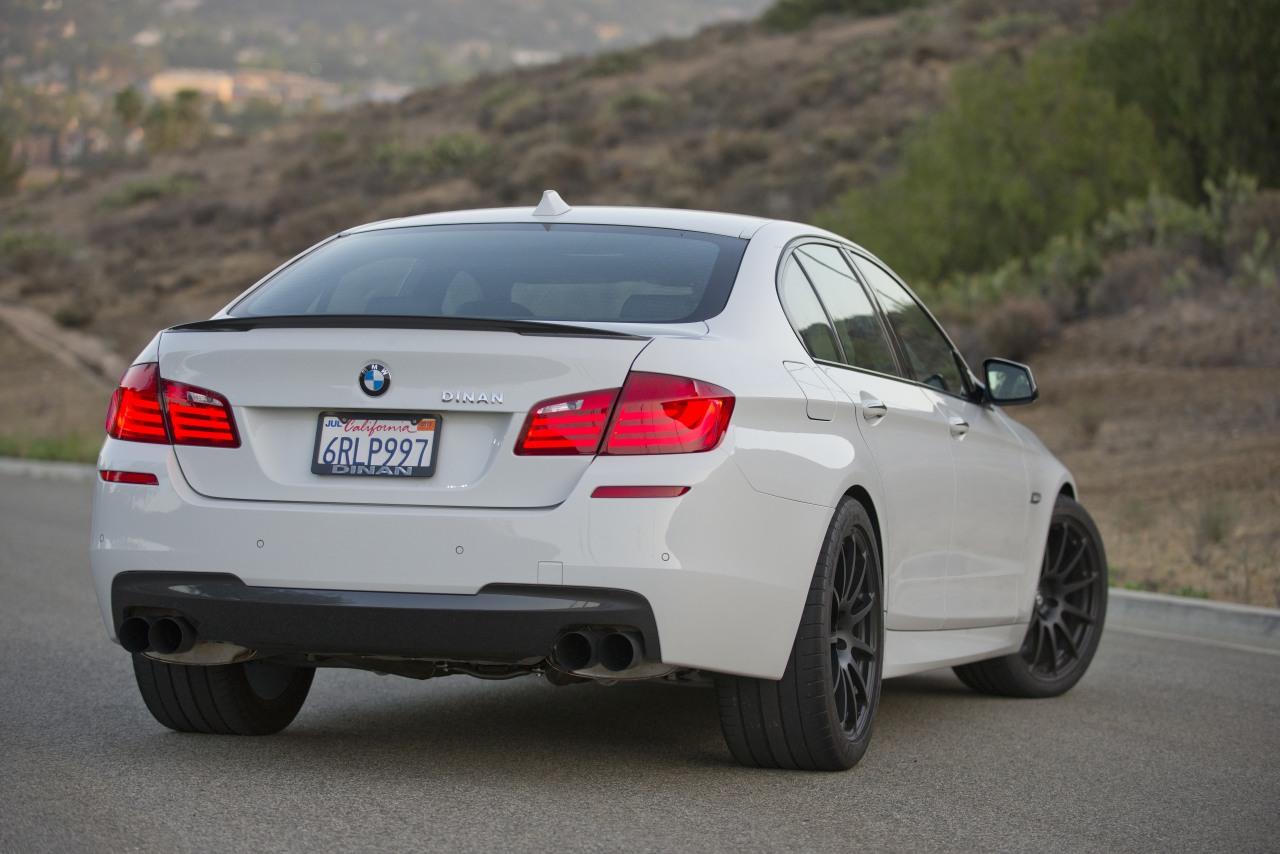 Dinan S3 BMW 550i Review by autoblog - autoevolution