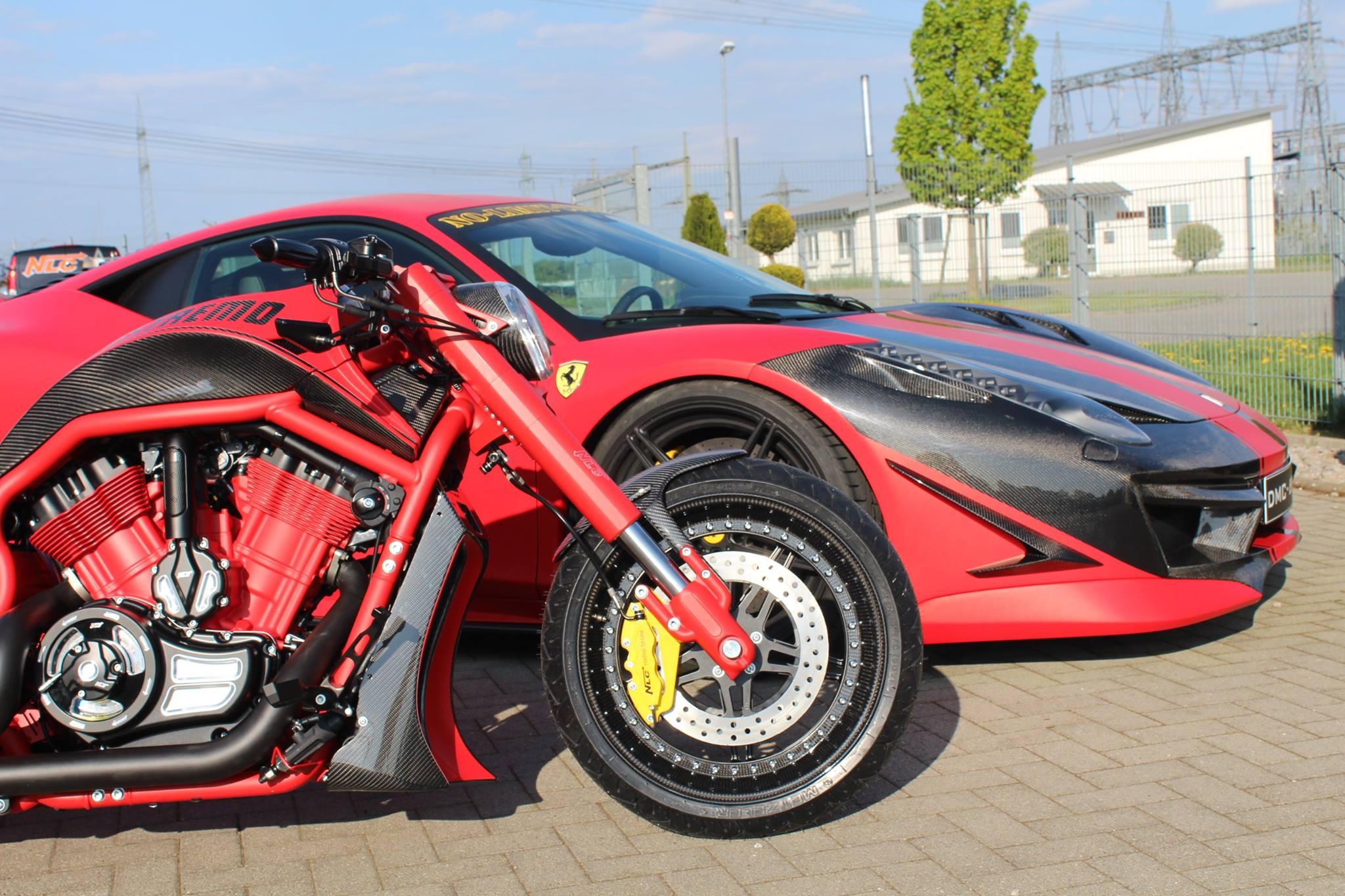 Dmc 458 Estremo Receives Nonidentical Twin Bike From No