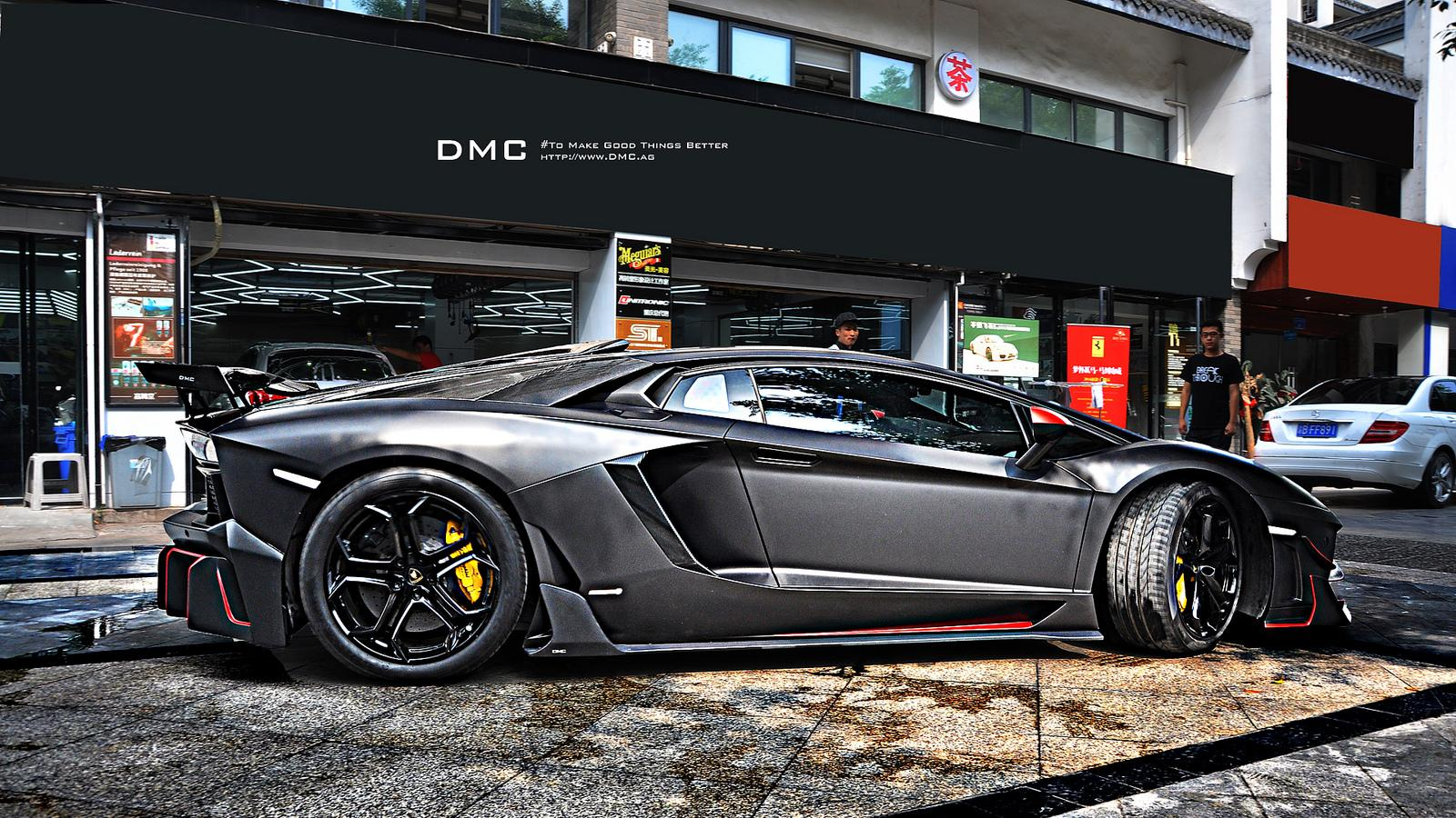 Dmc Edizione Gt Is A Lamborghini Aventador With A Fetish
