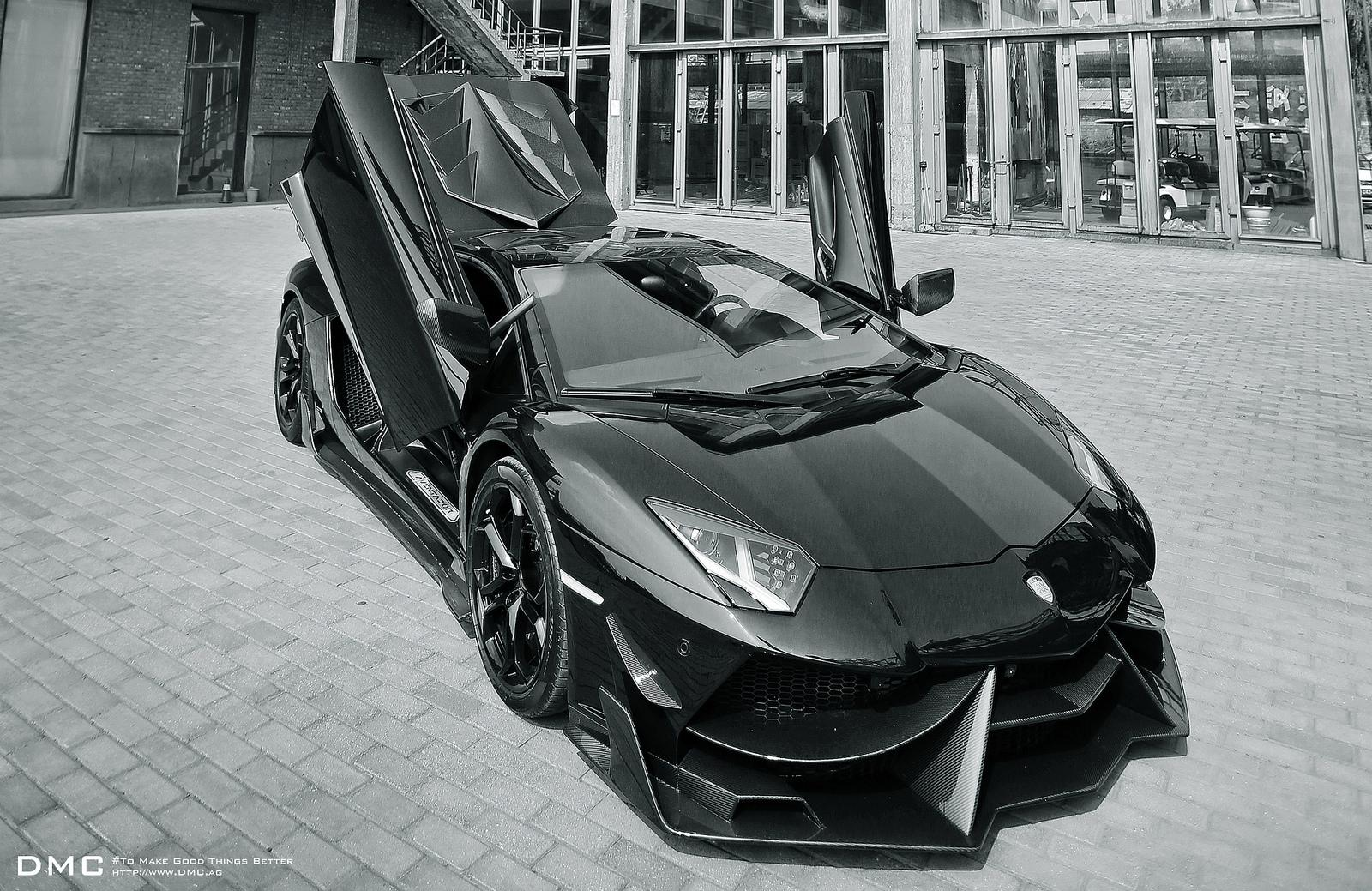 Dmc S 1 000 Hp Lamborghini Aventador Goes All Black