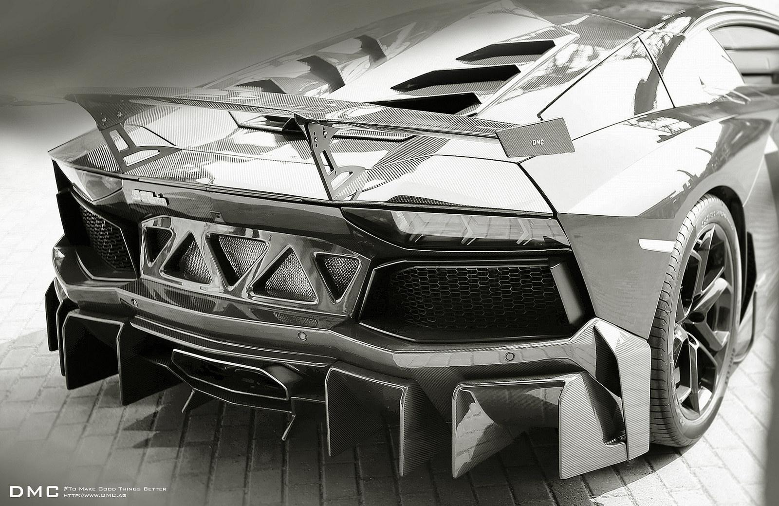 Dmc S 1 000 Hp Lamborghini Aventador Goes All Black