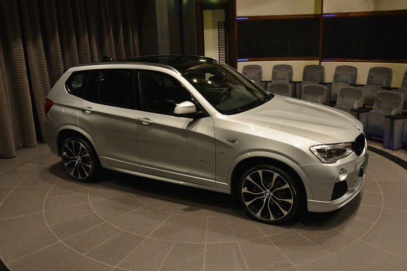 do m performance parts work a bmw x3 as well autoevolution. Black Bedroom Furniture Sets. Home Design Ideas