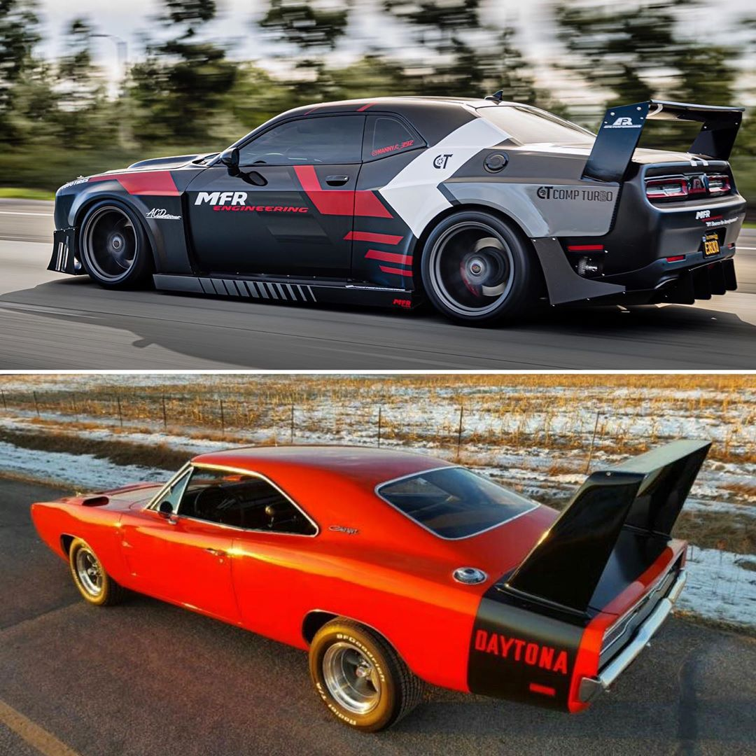 "Dodge Challenger ""Daytona"" Flexes Insane Twin-Turbo 392"