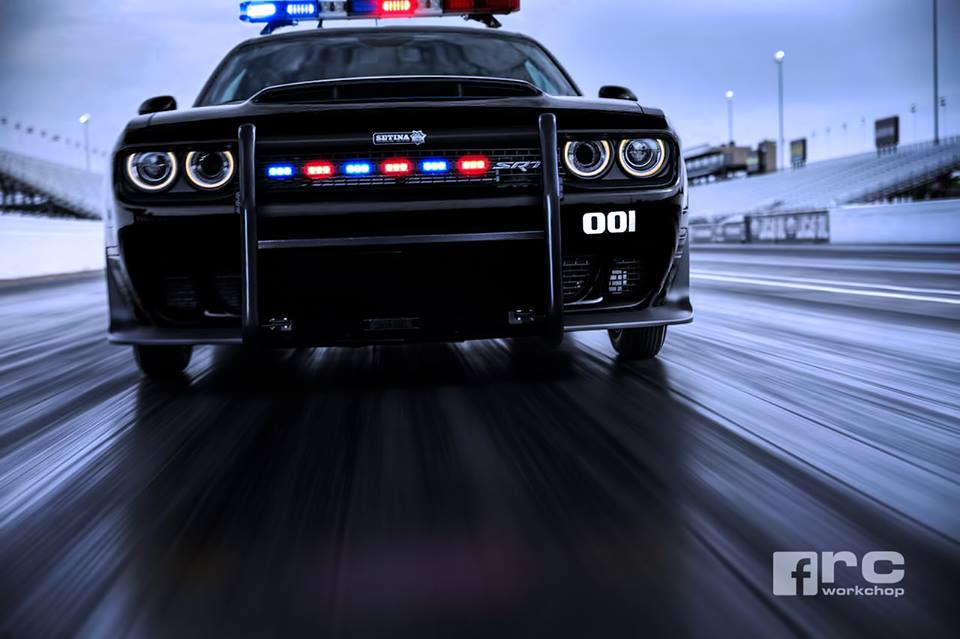 Dodge Demon Police Car Rendering Is Here To Serve And To