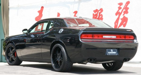 dodge challenger gets custom rims autoevolution. Black Bedroom Furniture Sets. Home Design Ideas