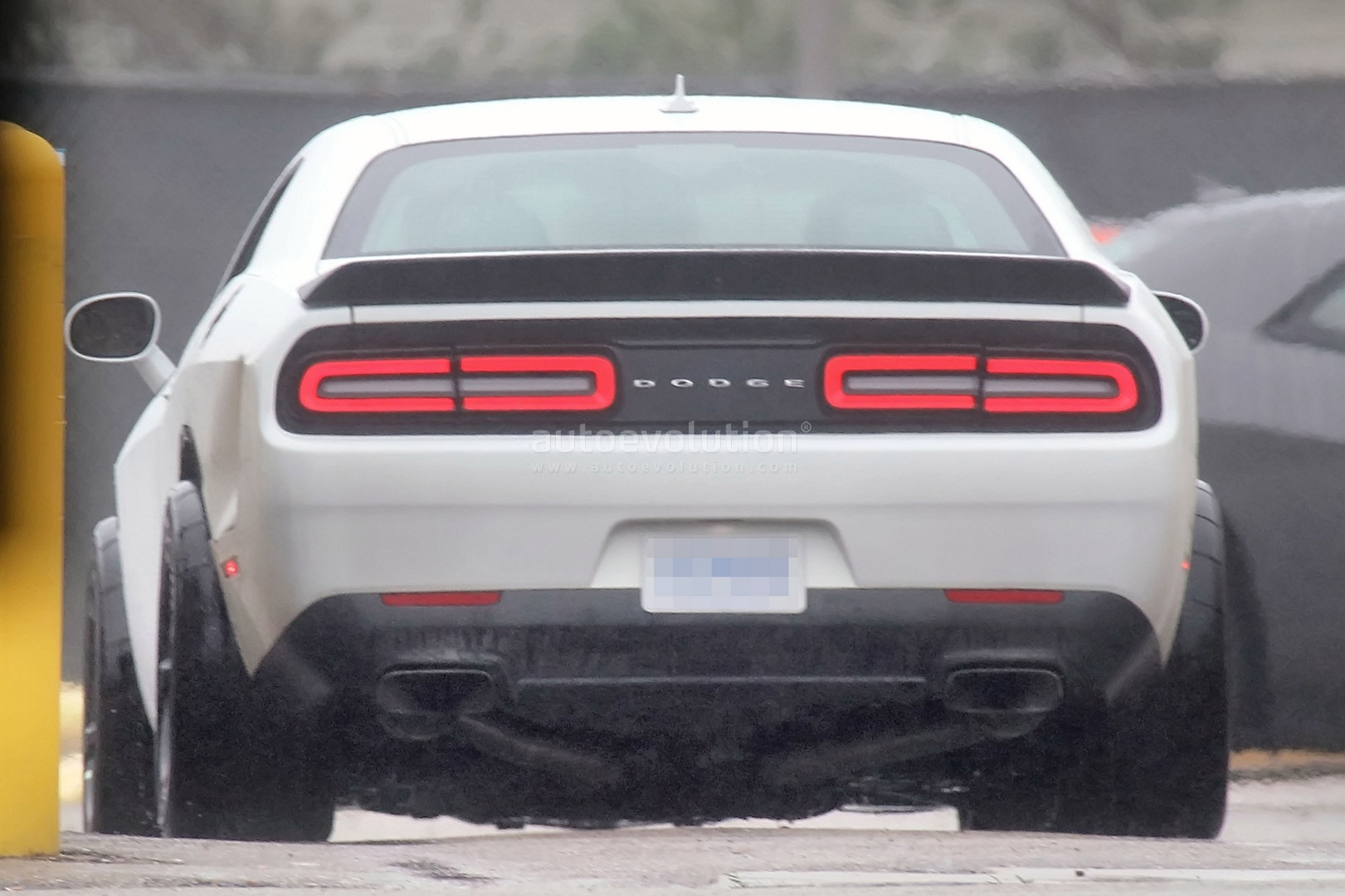 ... Dodge Challenger Hellcat ADR Spied, Is a Widebody Sore Thumb ...