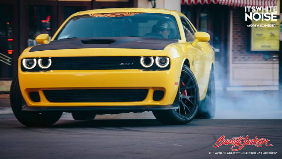 Dodge Challenger Hellcat Gets Hydraulic Handbrake Rhys