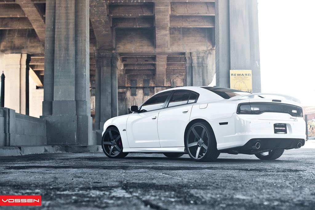 Dodge Charger Receives Vossen Wheels Autoevolution