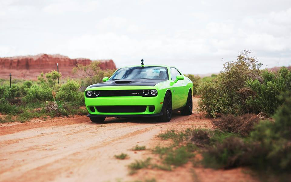 Dodge Challenger Srt Hellcat Owner Made His Own Gumball