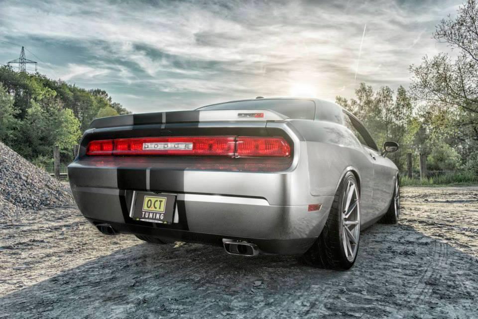 Dodge Challenger SRT8 Supercharged by O.CT Tuning to 556 ...