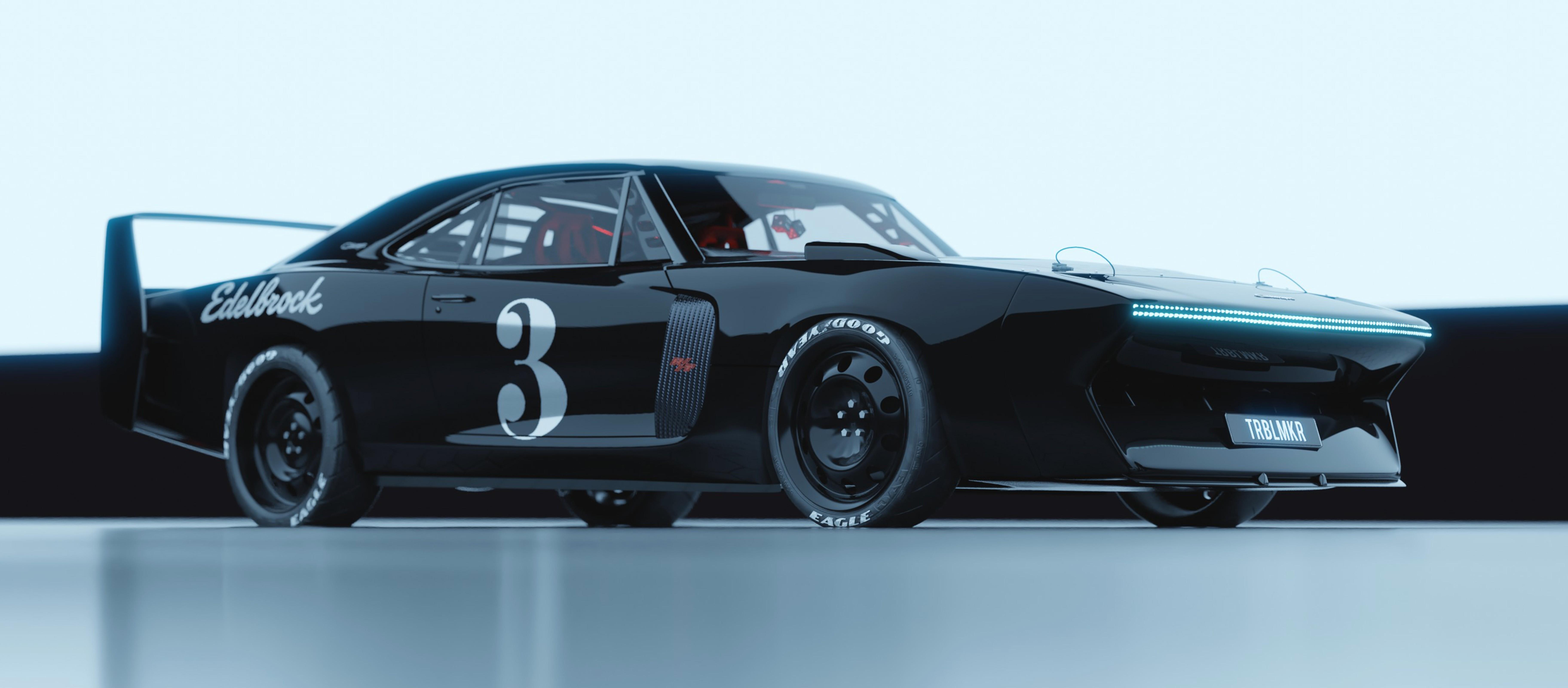 Dodge Charger Cyber Daytona Looks Like Restomod Perfection Autoevolution