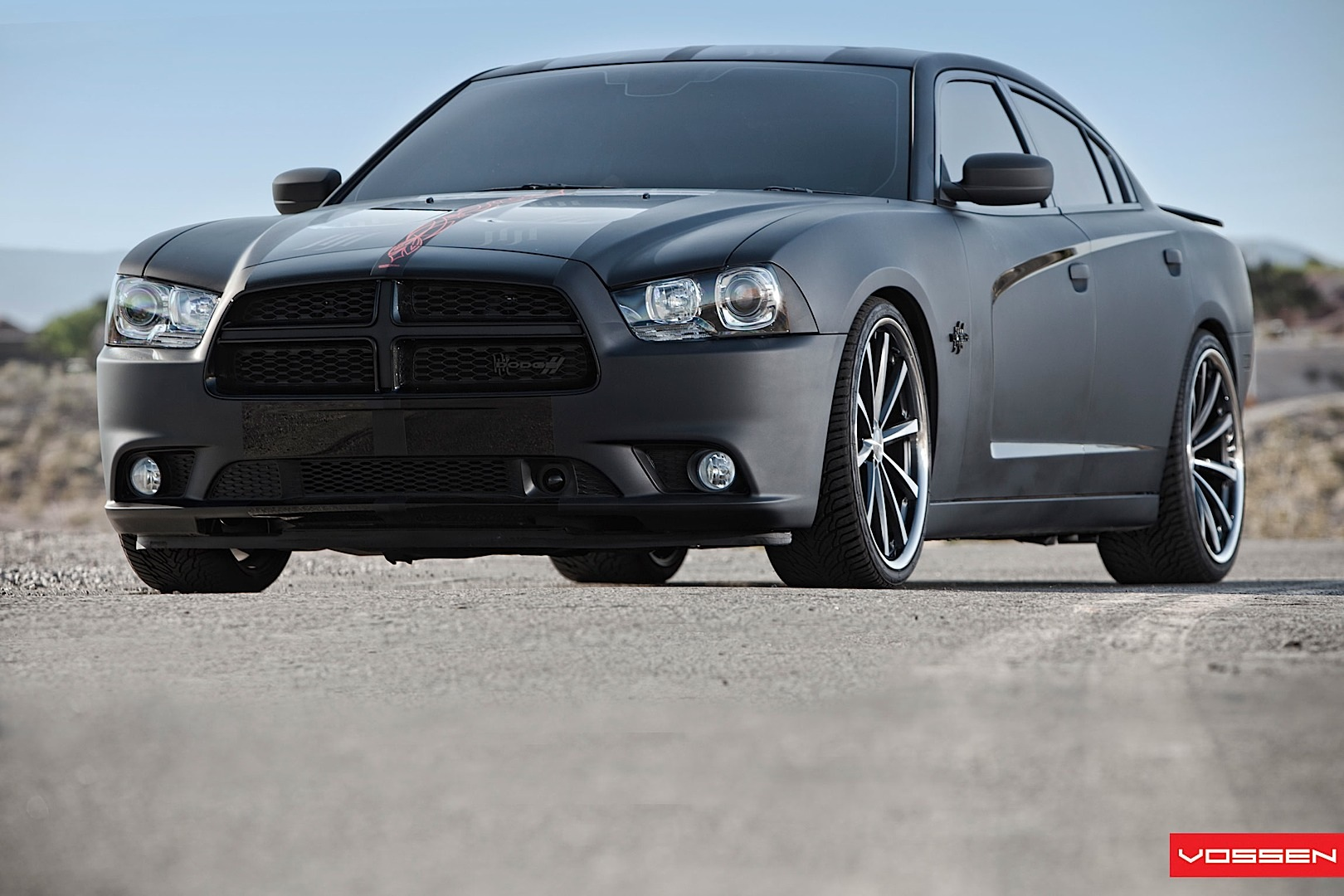 Matte black 2010 charger a dodge charger black in