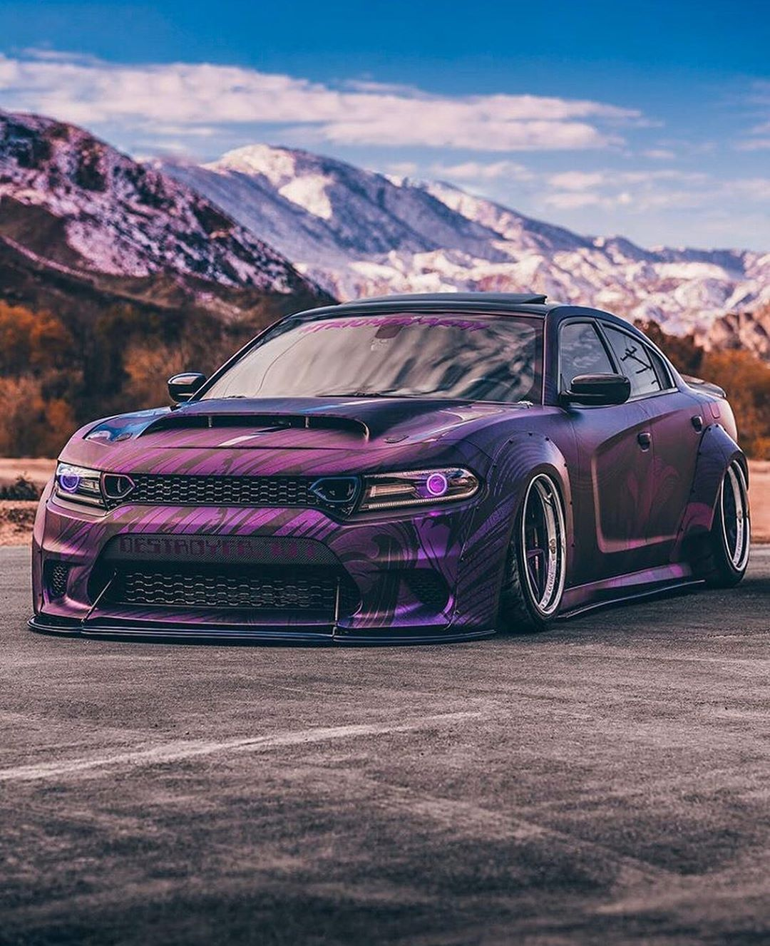Dodge Charger Hellcat Destroyer 707 Is A Widebody Warrior Autoevolution