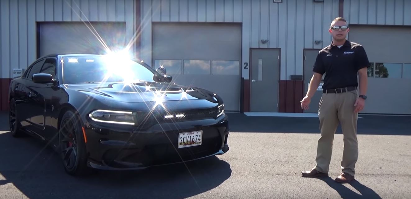 Camaro Vs Charger >> Dodge Charger Hellcat Gets LED Lights and Siren, Not a ...