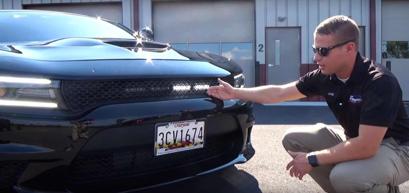 Dodge Charger Hellcat Gets Led Lights And Siren Not A