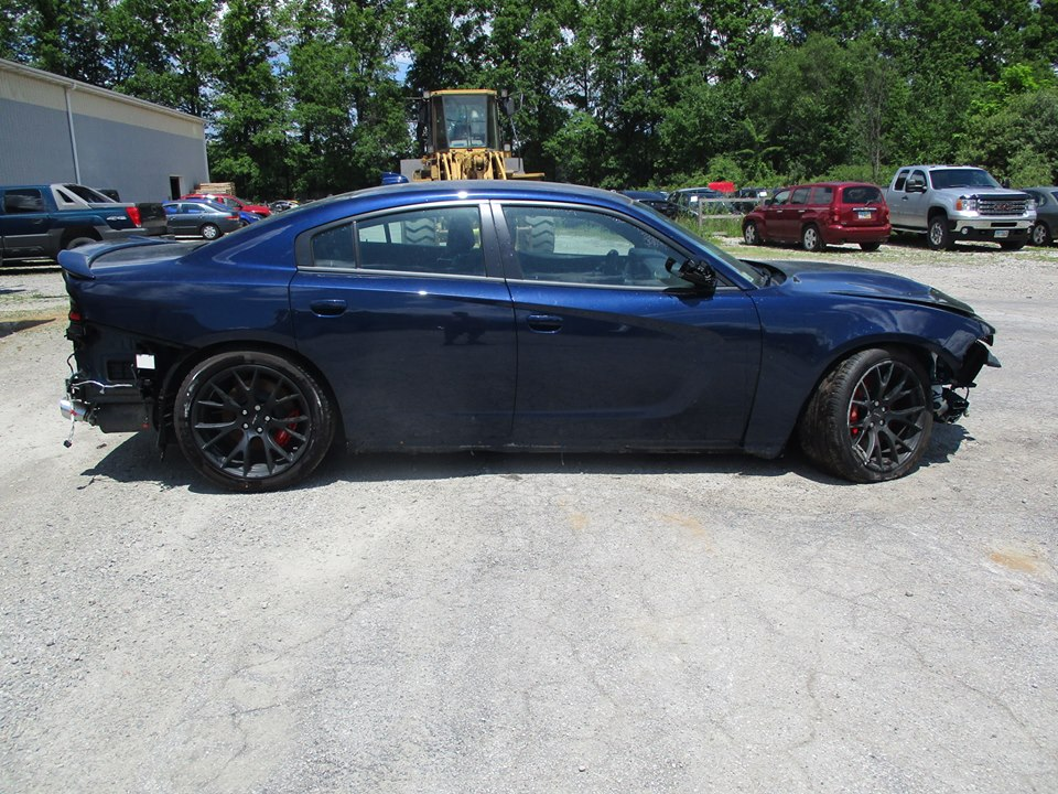 Dodge Charger Hellcat Gets Totaled After Just 3 000 Miles Wreck Now