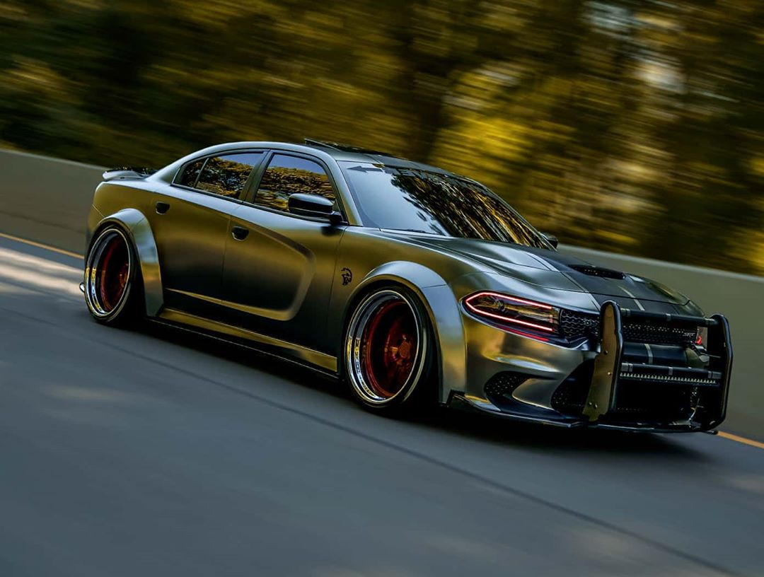 Dodge Charger Hellcat Widebody Enforcer Is All Steel Autoevolution