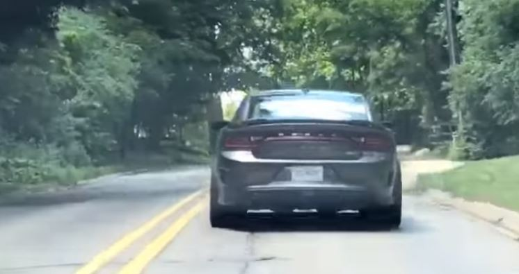 Is This The 2018 Dodge Charger Hellcat Widebody Prototype