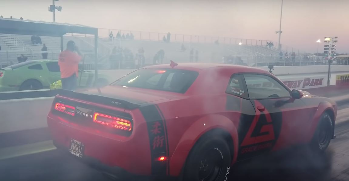 Dodge Demon Drag Races Ford Mustang Boss 302, The Gap Is ...