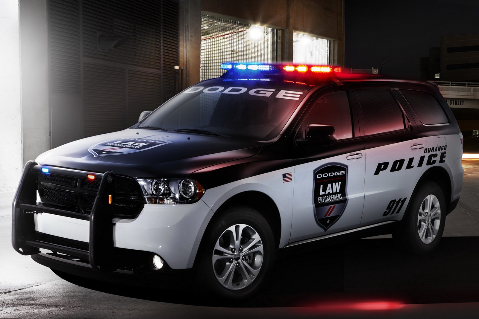 Ram 2018 Redesign >> Dodge Durango Police and Fire & Rescue Vehicles Unveiled - autoevolution