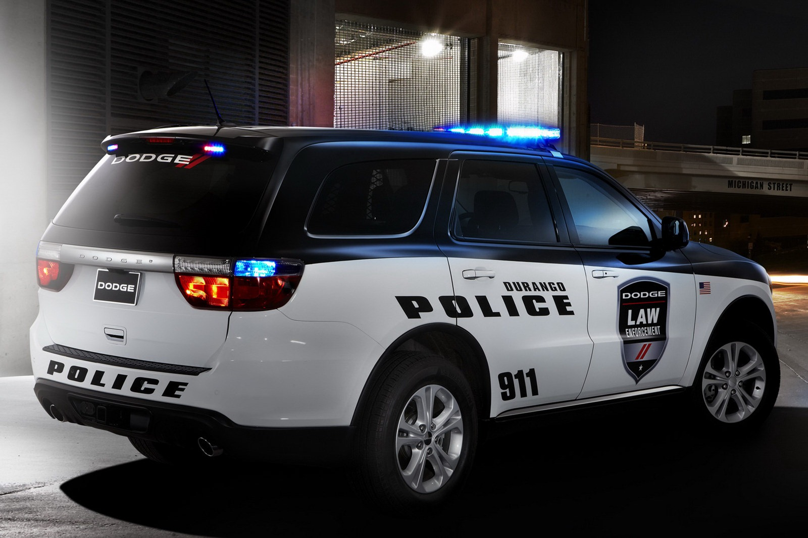 Dodge Durango Police And Fire  U0026 Rescue Vehicles Unveiled