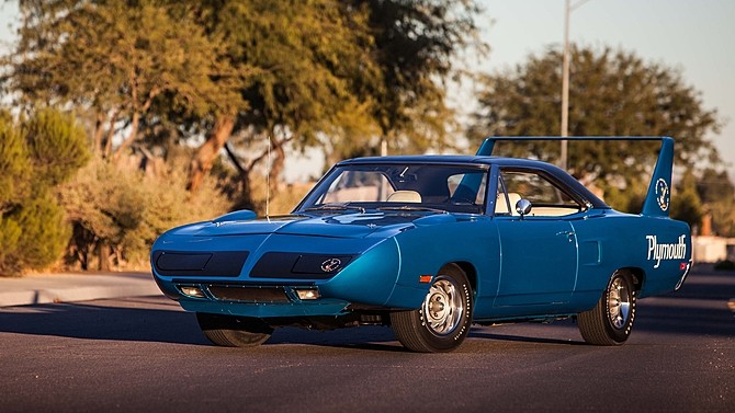 dodge charger hemi daytona and plymouth hemi superbird heading to auction
